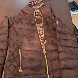 authentic Michael kors, packable down jacket